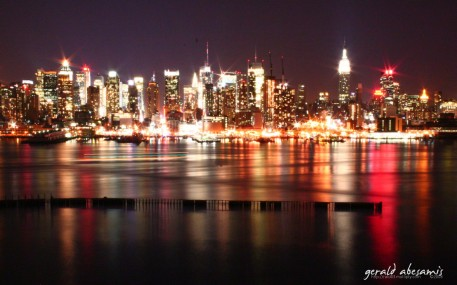 Our brod Winston Umali brought us to a scenic view in New Jersey across the Hudson River to see this beautiful view of the famous skyline