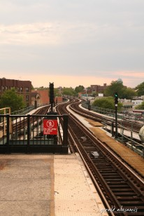 In Queens, the subways are elevated, parang MRT lang