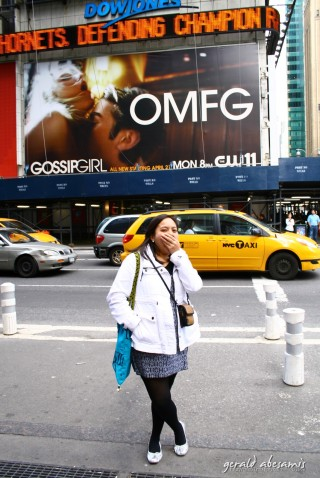 Times Square display