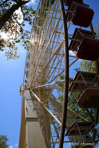 Six flags ferris wheel