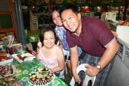 Spending Ge's birthday at Boracay!