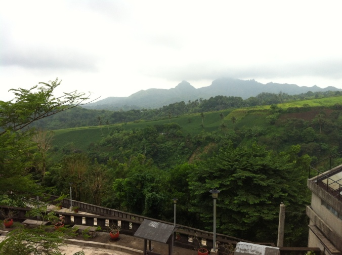 Scenic view of Mt. Batulao from one side of Chapel on the Hill