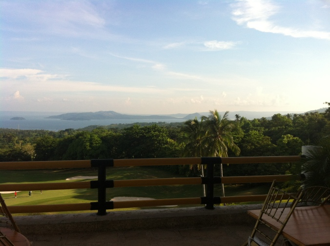 Taal Lake View from The Veranda Clubhouse