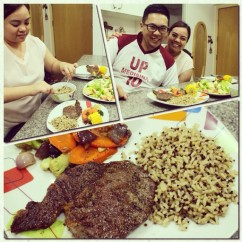 Steak Dinner!