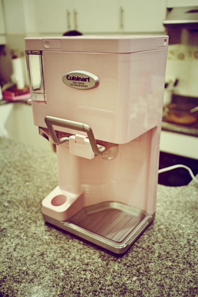 Cusinart Ice Cream Maker